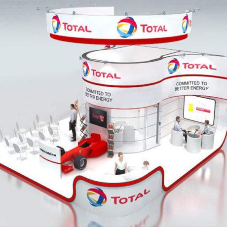 Progressive exhibition stand designs